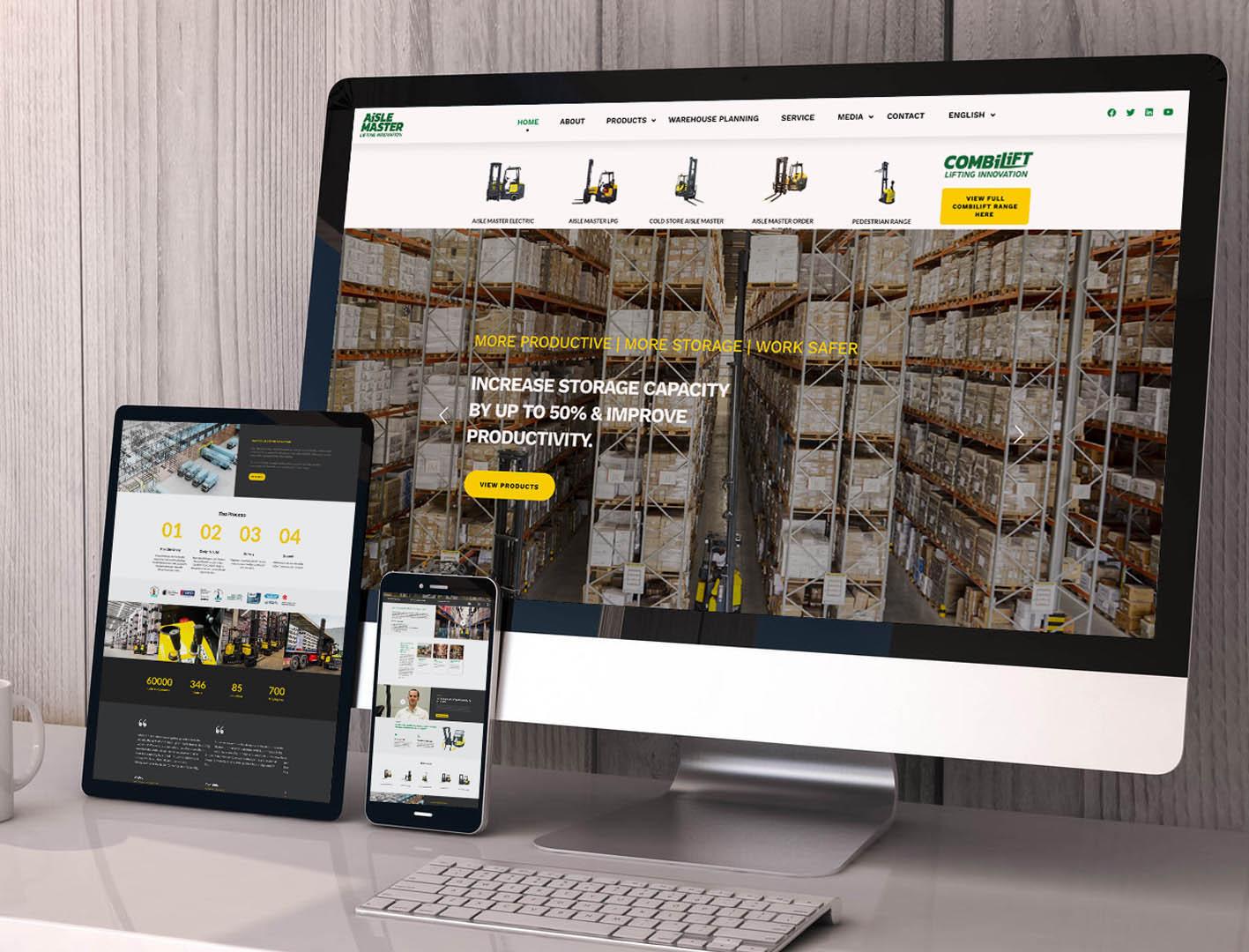 Aisle Master Website